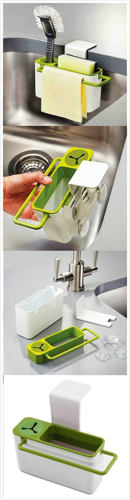 kitchen Self-draining Sink Rack Mais