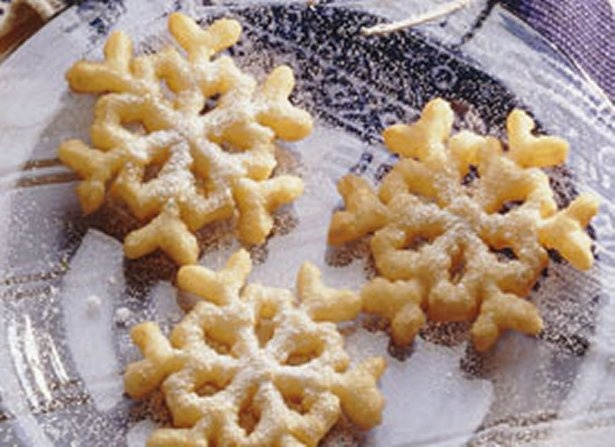 Rosette recipe. Easy deep fried pastry. Yumm! They're really lite, kinda reminds me of a funnel cake:)
