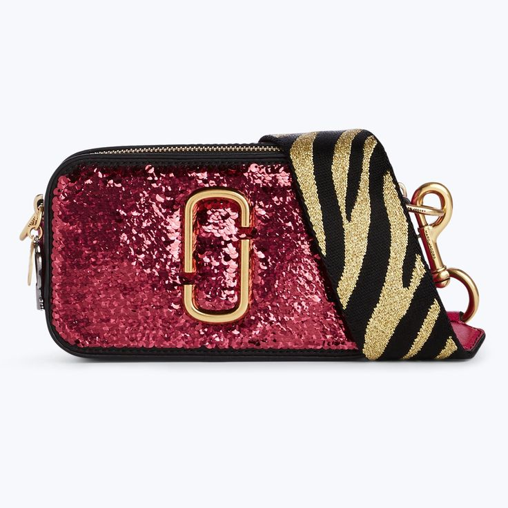 MARC JACOBS Sequin Snapshot Small Camera Bag. #marcjacobs #bags # #