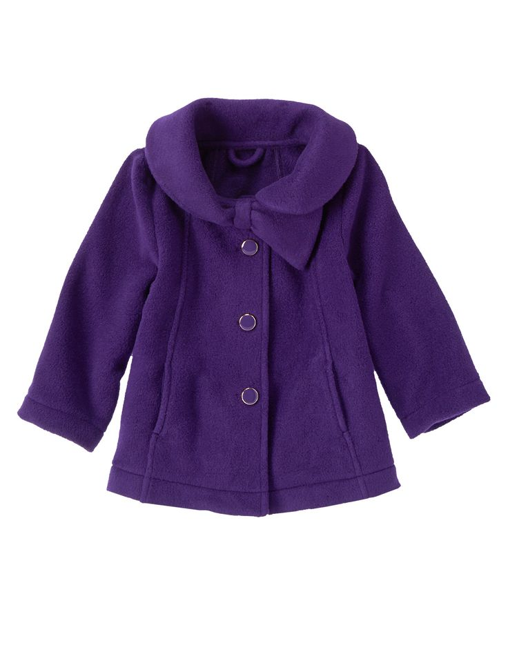 Polar Fleece Swing Coat at Gymboree I am thinking about this one for Lilly and Katie
