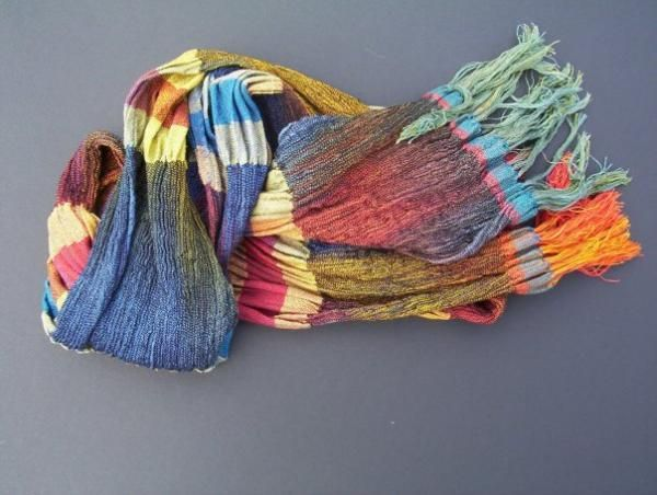 Collapse Weave Scarf