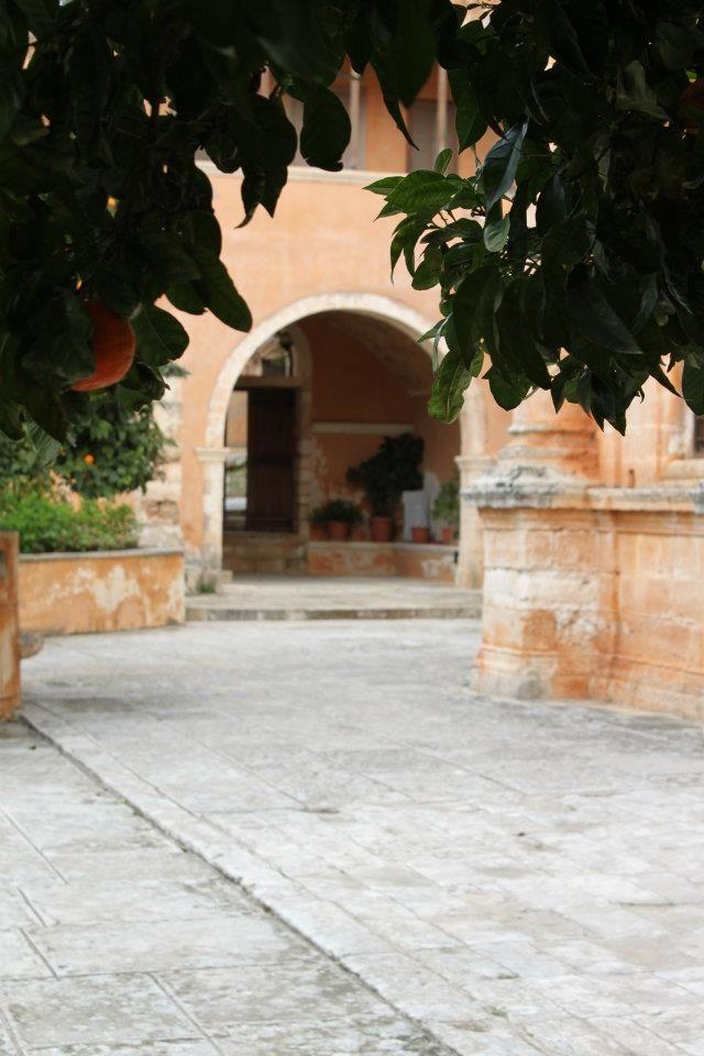 Agia Triada entrance....paradise