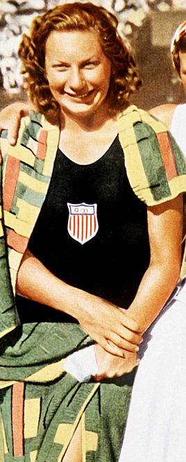 1932: Helene Madison-Swimming