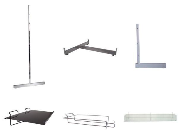 Slatwall Panels, Shelving Solutions, Shop Supplies and More - http://idealdisplays.ca/04_slatwall_accessories.html