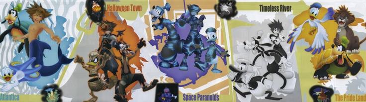 Kingdom Hearts II Guide Book Poster