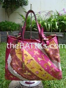 Tas Batik kombinasi Kulit B-1714 Nindya