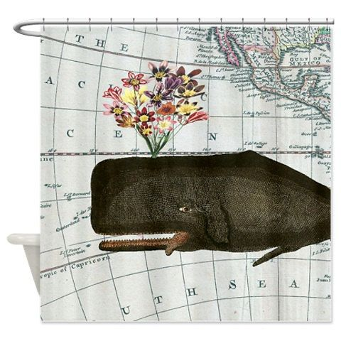 Glücklich Jahrgang Wal und Blume Jahrgang Karte Meer von ArtsyBerry                                                                                                                                                                                 Mehr