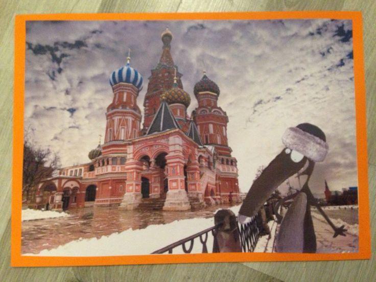Le tour du monde de Loup : La Russie , maternelle