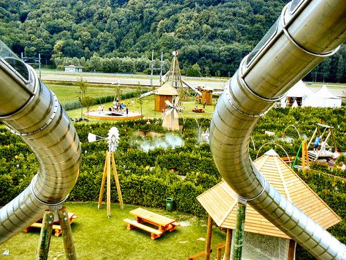 Labyrinthe Aventure, Evionnaz, VS | Ideal for a fun afternoon with the kids | 30 minutes by car !