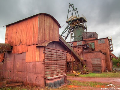 HDR shot of Florence Mine in Egremont, Cumbria.