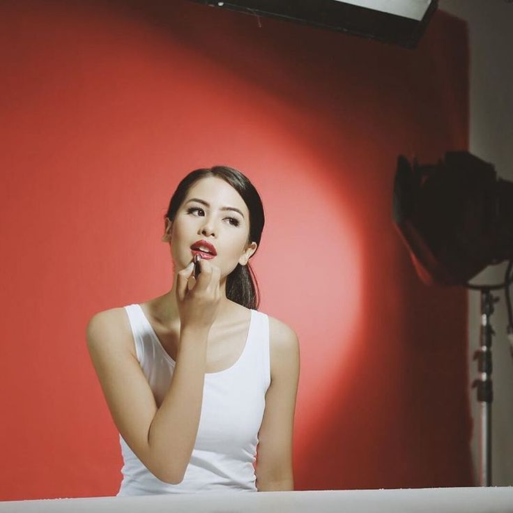 """""""Hi, Semarang! I'm so in love with this Infallible 2 Step Lip Color in shade Refine Ruby. Mau tau…"""""""