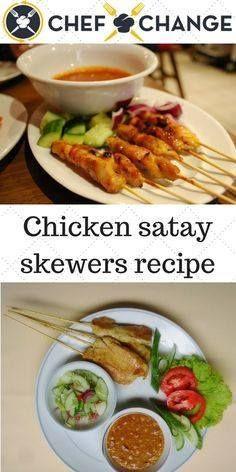 Chicken Satay Skewer Chicken Satay Skewers with Peanut Sauce...  Chicken Satay Skewer Chicken Satay Skewers with Peanut Sauce Recipe Recipe : http://ift.tt/1hGiZgA And @ItsNutella  http://ift.tt/2v8iUYW