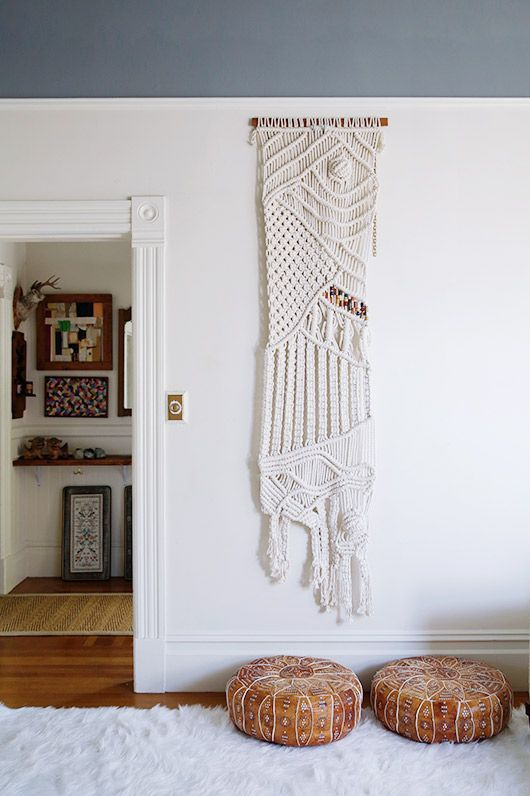 I wish I had kept all the macrame wall hangings and plant hangers I made in the 70s.