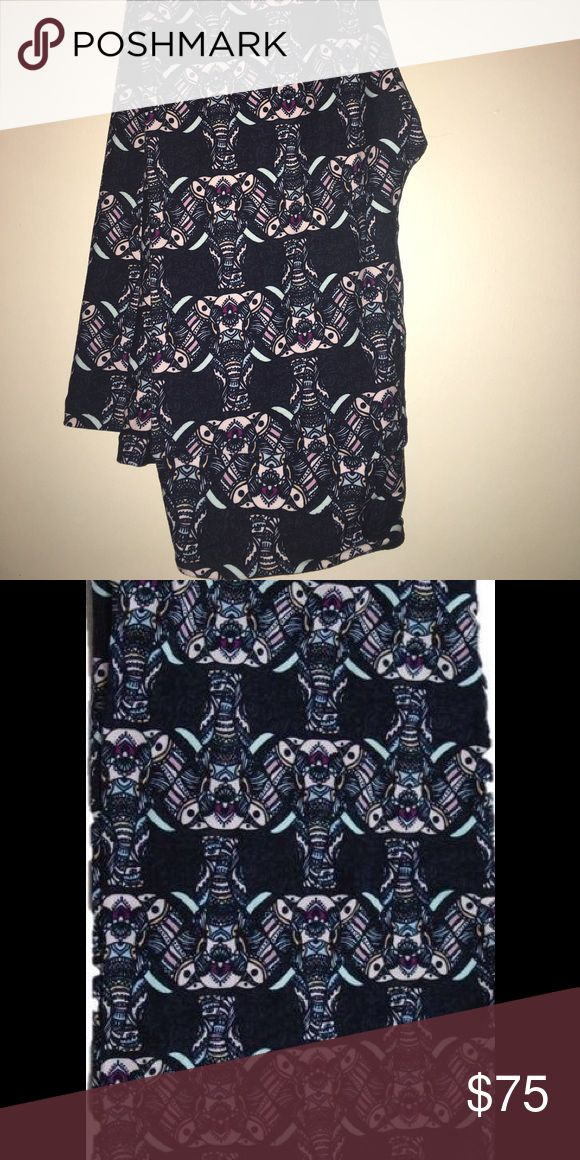Lularoe Elephant Leggings OS - Unicorn Lularoe Elephant  Leggings One Size (2-10) Unicorn  - Hard to Find Pattern! BNWT - Cute Buttery Soft leggings - Tag came loose in bag. Never worn. I'm not a consultant, just bought too many and clearing out my closet. LuLaRoe Pants Leggings