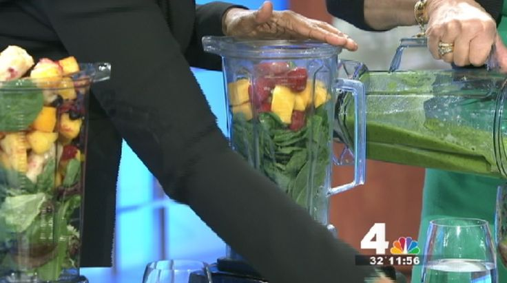 Nutritionist J.J. Smith stopped by News4 Midday Monday morning to share her 10-day green smoothie cleanse.