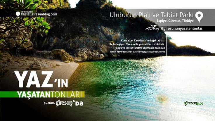 Uluburun Plajı http://kesfet.giresunblog.com/uluburun-plaji-ve-tabiat-parki/