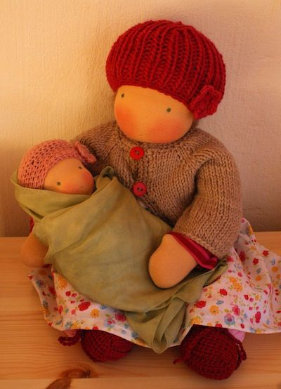 Baby + Waldorf doll Poupée
