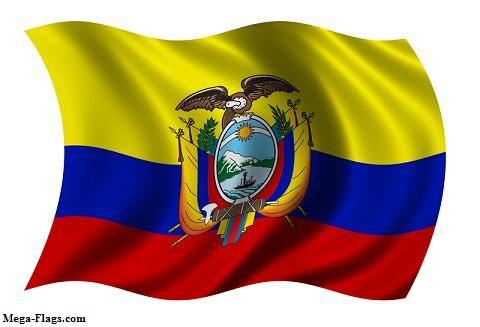 E-Este foto es de la bandera de la gente de Ecuador.