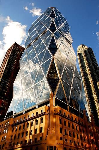 hearst tower, by norman foster