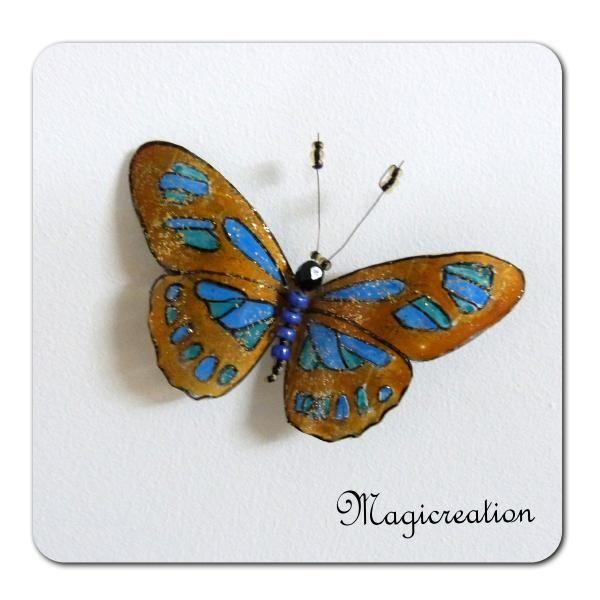 MAGNET PAPILLON ANUBIS - Boutique www.magicreation.fr