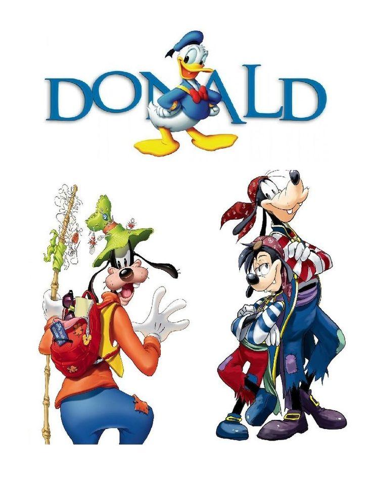 **Disneys Goofy-Donald Duck Custom iron on transfer Personalize T shirt  #DisneyCouture #Everyday