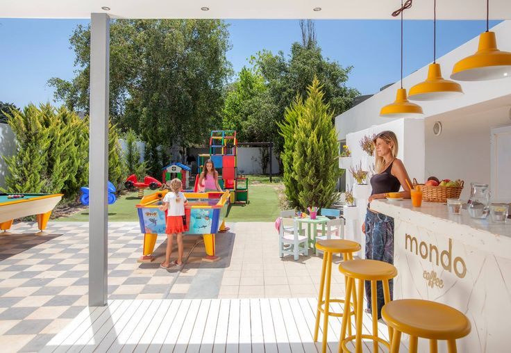 Enjoy your morning coffee while your children play at Mondo Cafe! #KipriotisHotels #KipriotisMaris #Greece #Family #Holidays #Vacation #island #Kos #Summer #SummerHolidays #Hotel #Suites  http://www.kipriotis.gr/en/kipriotis-maris-suites
