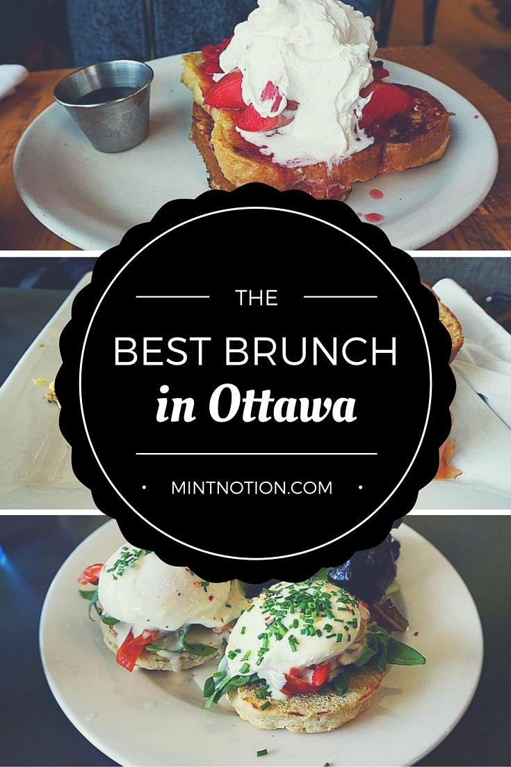 The best brunch and breakfast spot in Ottawa, Canada #food #travel #mintnotion