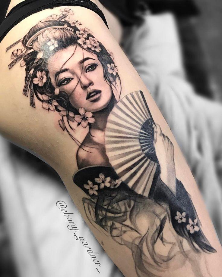 Bodysuittattoos Facepaintings In 2020 Geisha Tattoo Design Geisha Tattoo Japanese Tattoo