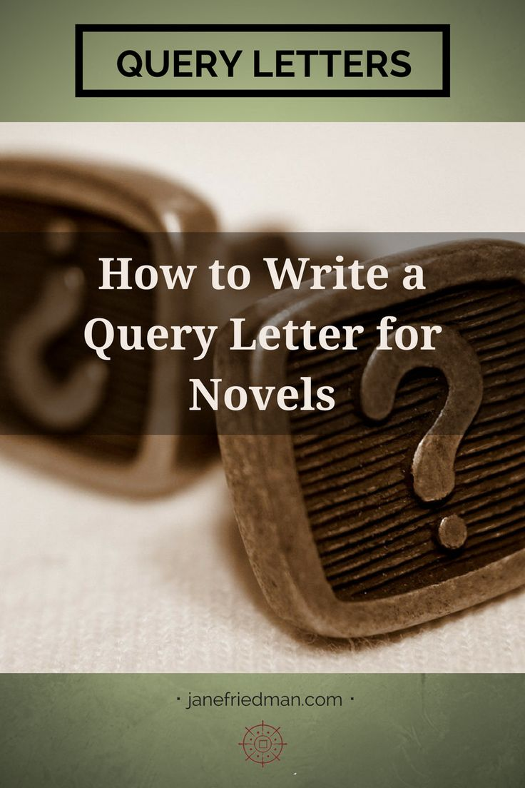 The stand alone query letter has one purpose