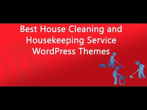 Here we come with the 10+ Best House Cleaning and Housekeeping Service WordPress Themes. This list includes a few free themes, some premium themes, and a few others that offer free & paid versions.