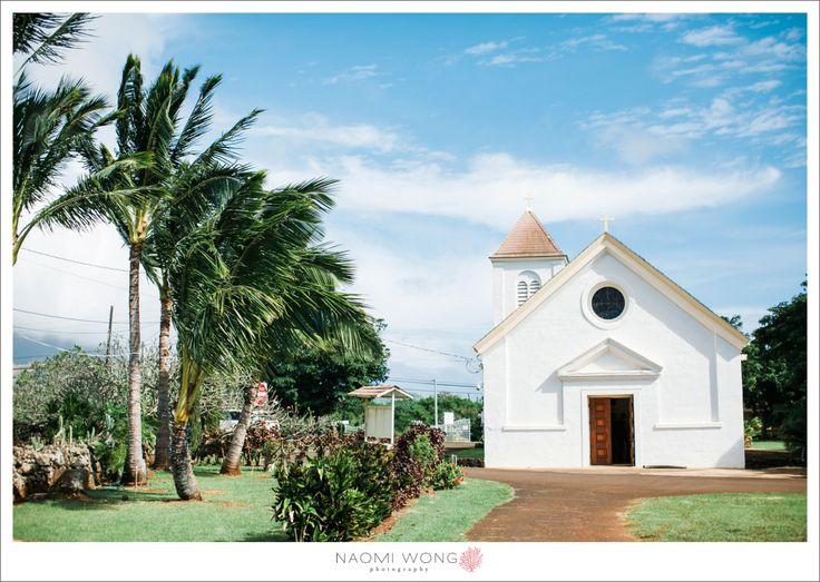 St. Raphael Church, Kauai  Naomi Wong Photography