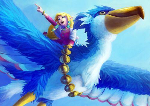 Art inspired by The Legend of Zelda: Skyward Sword