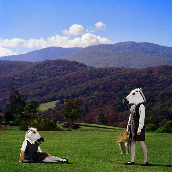 Australian photographer Polixeni Papapetrou has created these fantastical series of images titled The Dreamkeepers and Between Worlds