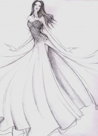 Diseño de Gionni Straccia para Dayana Mendoza en Miss universo 2008