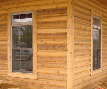 Log Siding Logs And Cedar Siding On Pinterest