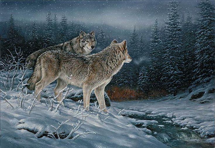 Картинки с анимациями волки, картинки стене