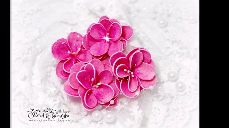 Foamiran Flower without die cut