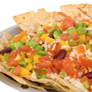 Greek–Style Nachos - Greek flavors are taking over your nachos! Pita ...