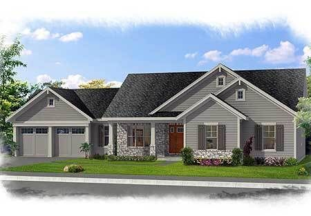 Family-Friendly One Level Home Plan - 39223ST | 1st Floor Master Suite, CAD Available, Den-Office-Library-Study, Media-Game-Home Theater, PDF, Ranch, Southern | Architectural Designs