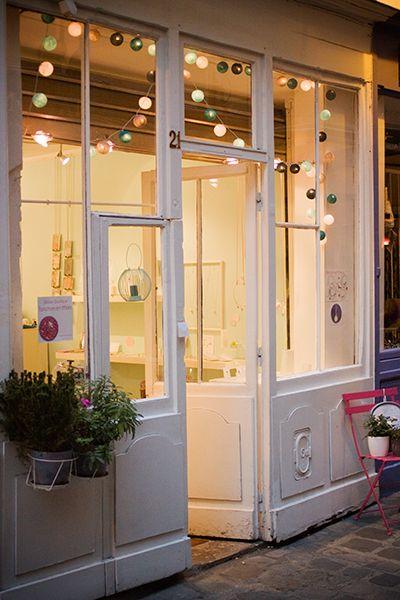 Une halte gourmande Passage Molière à Paris / boutique Fanchon en Mars