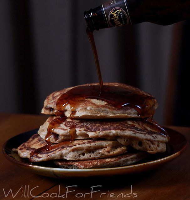 Mancakes. ;) (breakfast)