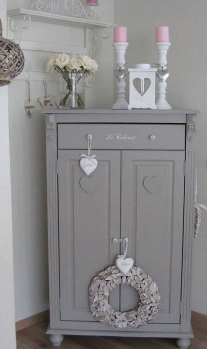 Grey for my corner cabinet