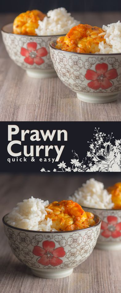Quick and easy Indian Prawn Curry Recipe: A super quick and simple Indian prawn curry that can be on your plate in just 30 minutes start to finish