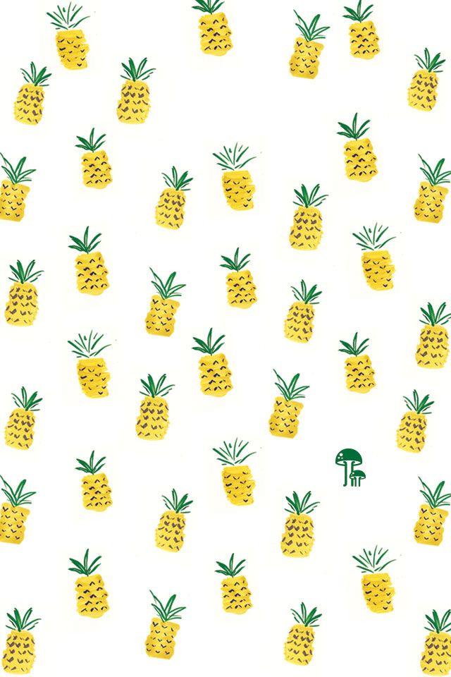 pineapples made from fingerprints!