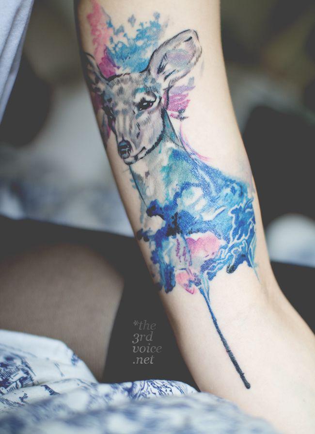 // THE3RDVOICE.NET // Modeblog & Stylediary aus München: Tattoo