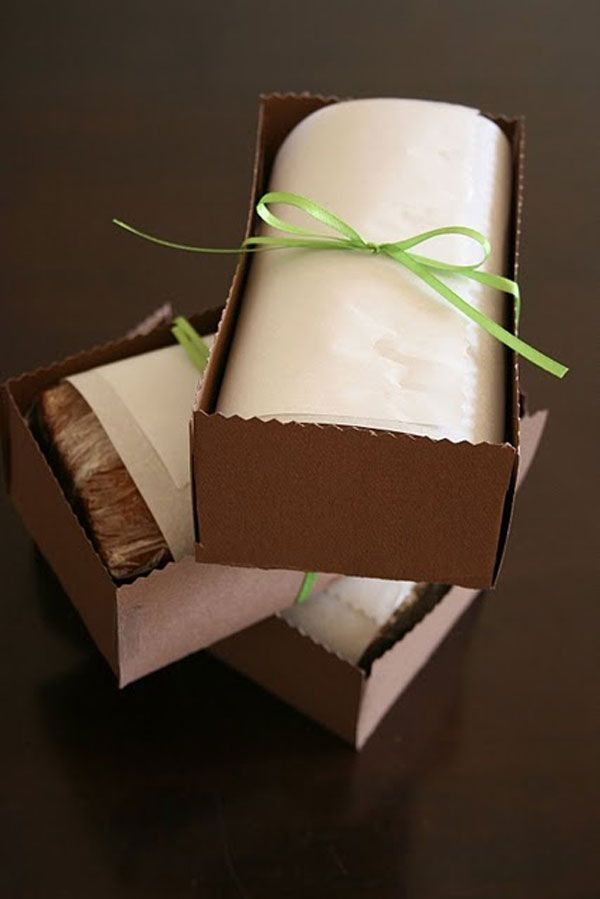 Packaging bread and loaf cakes for gifting