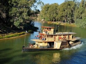 Paddle Steamer Emmy Lou - Echuca, The Murray