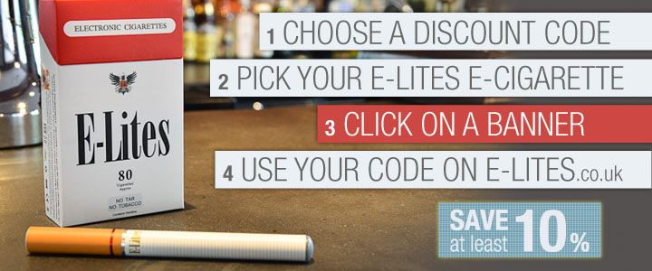 We have just released new coupon codes for the biggest electronic cigarette brand, E-Lites, get them here >> E-lites, E lites, E-lites electronic cigarette, E-lites review --> www.thebestecig.co.uk/e-lites_cigarette.html