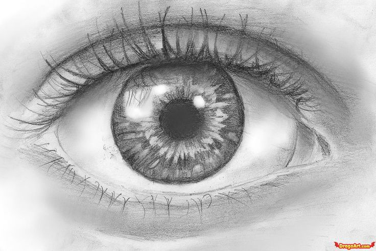 Drew a eye like this and i passed