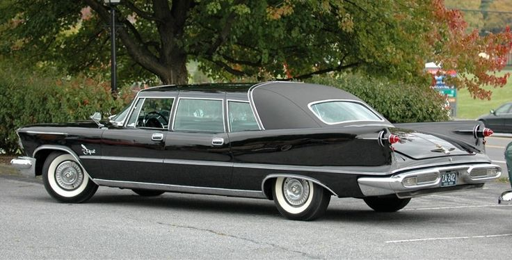 1957 Chrysler Crown Imperial Limo Concept Car Sheet